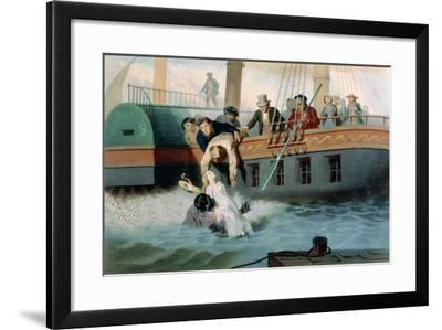 Tom Saves Evangeline-Adolphe Jean-baptiste Bayot-Framed Giclee Print