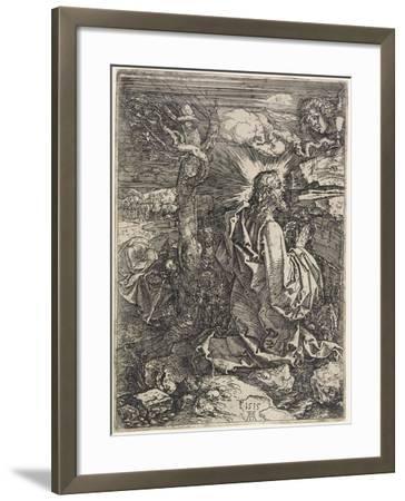 Christ on the Mount of Olives, 1515-Albrecht D?rer-Framed Giclee Print