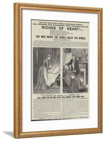 Advertisement, Eno's Fruit Salt-Adelaide Claxton-Framed Giclee Print