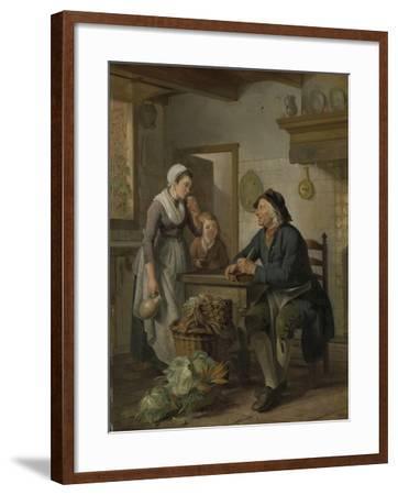 Morning Visit, 1796-Adriaen de Lelie-Framed Giclee Print