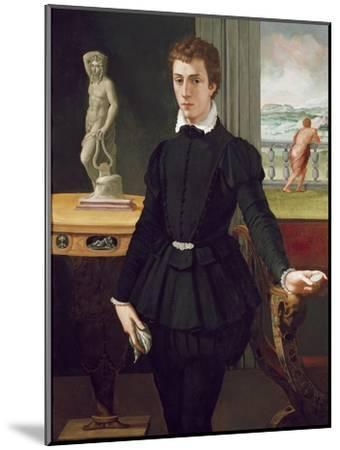 Portrait of a Young Man, Post 1560-Alessandro Allori-Mounted Premium Giclee Print