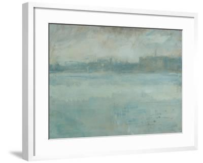 The Thames from the Artist's House in Grosvenor Road-Ambrose Mcevoy-Framed Giclee Print