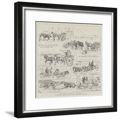 The County Council Election-Alfred Chantrey Corbould-Framed Giclee Print