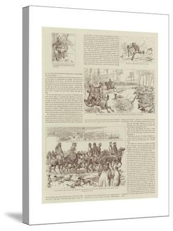 The Story of a Shooting Excursion in Turkey-Alfred Chantrey Corbould-Stretched Canvas Print