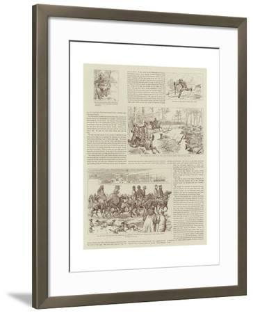 The Story of a Shooting Excursion in Turkey-Alfred Chantrey Corbould-Framed Giclee Print