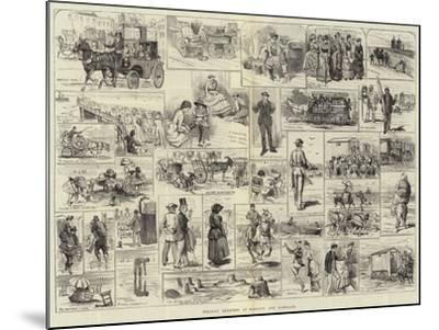 Holiday Sketches at Margate and Ramsgate-Alfred Courbould-Mounted Giclee Print