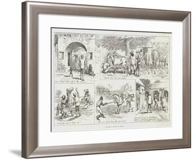 Buying a Pony in India-Alfred Courbould-Framed Giclee Print