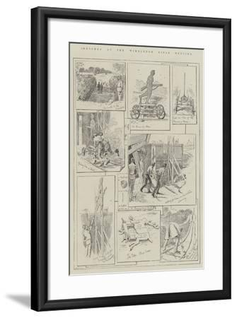 Sketches at the Wimbledon Rifle Meeting-Alfred Courbould-Framed Giclee Print