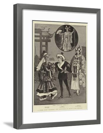 A Scene from Aladdin, the Pantomime at Drury Lane Theatre-Alexander Stuart Boyd-Framed Giclee Print