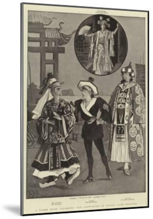 A Scene from Aladdin, the Pantomime at Drury Lane Theatre-Alexander Stuart Boyd-Mounted Giclee Print