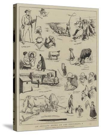 An Artist's Notes on the Continent, V-Alfred Chantrey Corbould-Stretched Canvas Print