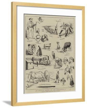 An Artist's Notes on the Continent, V-Alfred Chantrey Corbould-Framed Giclee Print