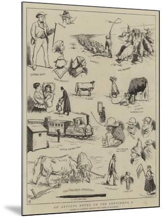 An Artist's Notes on the Continent, V-Alfred Chantrey Corbould-Mounted Giclee Print