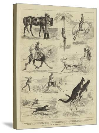Notes from a Traveller's Sketch-Book-Alfred Chantrey Corbould-Stretched Canvas Print