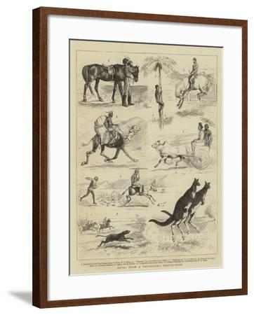 Notes from a Traveller's Sketch-Book-Alfred Chantrey Corbould-Framed Giclee Print