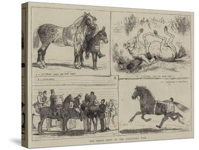 The Horse Show at the Alexandra Park-Alfred Chantrey Corbould-Stretched Canvas Print