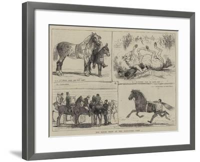 The Horse Show at the Alexandra Park-Alfred Chantrey Corbould-Framed Giclee Print