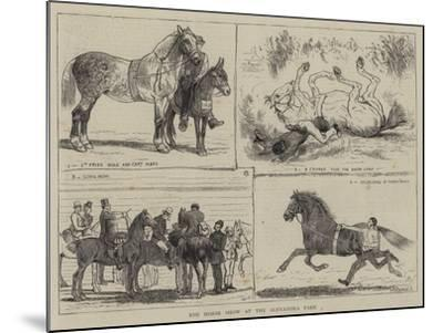 The Horse Show at the Alexandra Park-Alfred Chantrey Corbould-Mounted Giclee Print