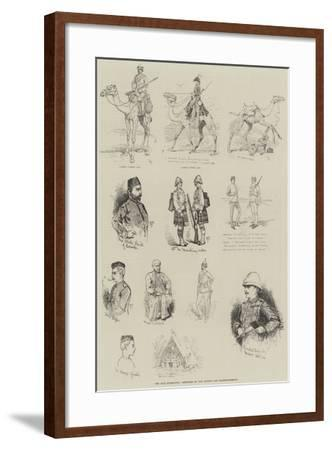 The Nile Expedition-Alfred Courbould-Framed Giclee Print