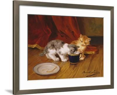 Tea-Time-Alphonse Marie de Neuville-Framed Giclee Print