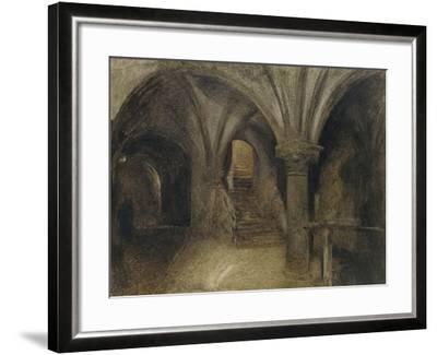 Le Crypte De L'Aquilon-Alfred William Hunt-Framed Giclee Print