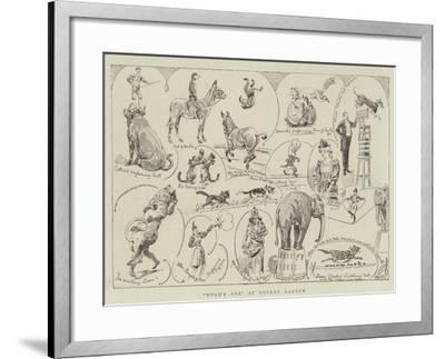 Noah's Ark at Covent Garden-Alfred Chantrey Corbould-Framed Giclee Print