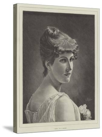 Irene-Alfred Seifert-Stretched Canvas Print