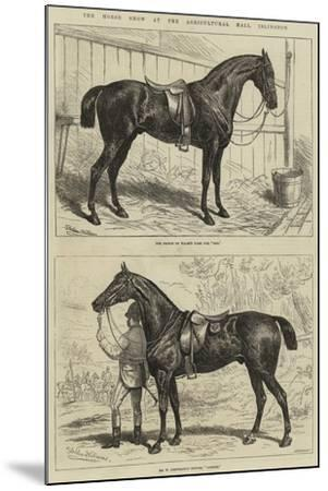 The Horse Show at the Agricultural Hall, Islington-Alfred Sheldon-Williams-Mounted Giclee Print