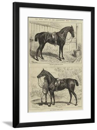 The Horse Show at the Agricultural Hall, Islington-Alfred Sheldon-Williams-Framed Giclee Print