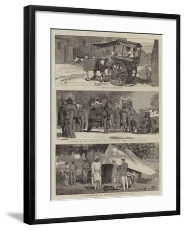 Views in India-Alfred Chantrey Corbould-Framed Giclee Print