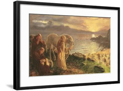St Columba's Farewell to the White Horse, 1865-1868-Alice Boyd-Framed Giclee Print
