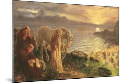 St Columba's Farewell to the White Horse, 1865-1868-Alice Boyd-Mounted Giclee Print
