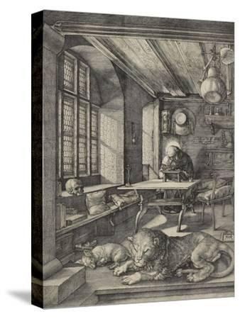 St Jerome in His Study, 1514-Albrecht D?rer-Stretched Canvas Print