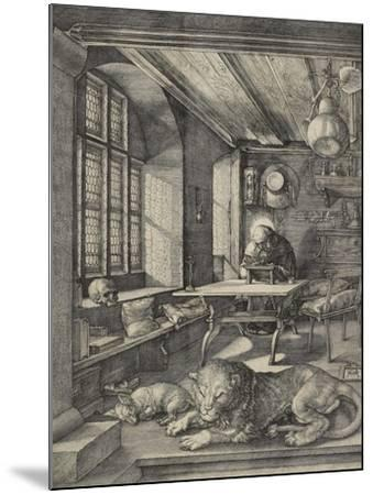 St Jerome in His Study, 1514-Albrecht D?rer-Mounted Giclee Print