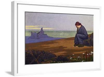 Le Retour Au Foyer (Return Home), 1913, by Alexandre Seon (1855-1917), France, 20th Century-Alexandre Seon-Framed Giclee Print