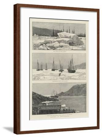 Sketches in Newfoundland-Amedee Forestier-Framed Giclee Print