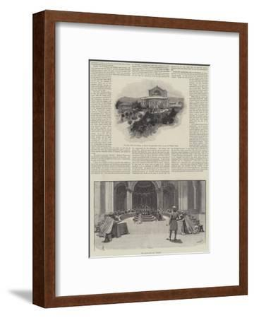 The Tramp Abroad Again-Amedee Forestier-Framed Giclee Print