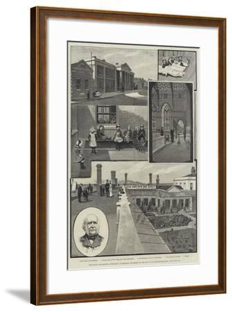 The Royal Sea-Bathing Infirmary at Margate, Enlarged by the Gift of Sir Erasmus Wilson-Amedee Forestier-Framed Giclee Print
