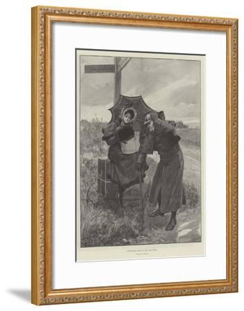 Everything Comes to Him Who Waits-Amedee Forestier-Framed Giclee Print