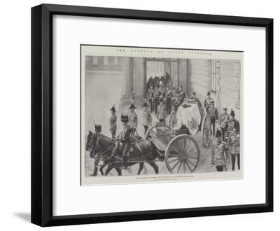 The Funeral of Queen Victoria-Amedee Forestier-Framed Giclee Print
