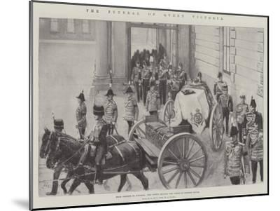 The Funeral of Queen Victoria-Amedee Forestier-Mounted Giclee Print