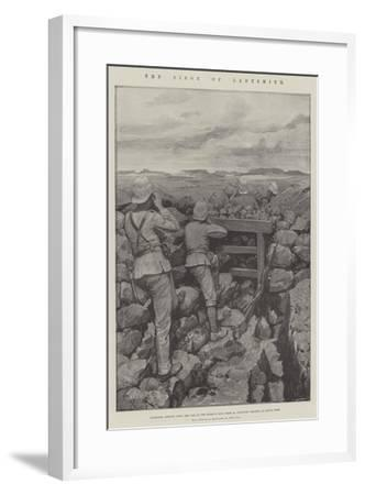 The Siege of Ladysmith-Amedee Forestier-Framed Giclee Print