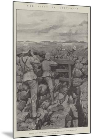 The Siege of Ladysmith-Amedee Forestier-Mounted Giclee Print