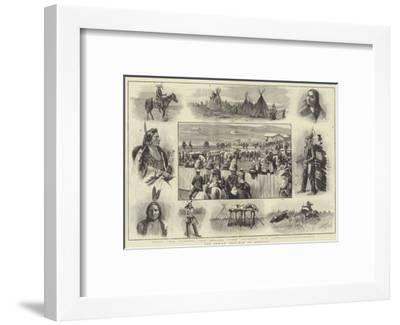 The Indian Trouble in America-Amedee Forestier-Framed Giclee Print