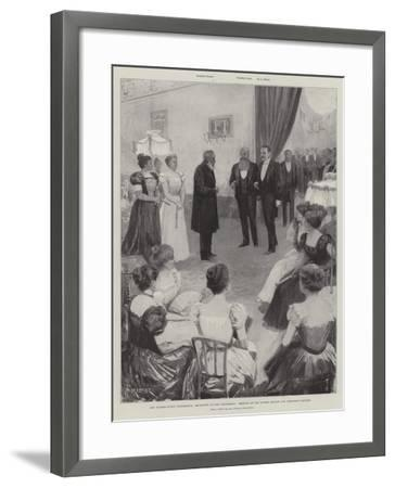 The Bloemfontein Conference-Amedee Forestier-Framed Giclee Print