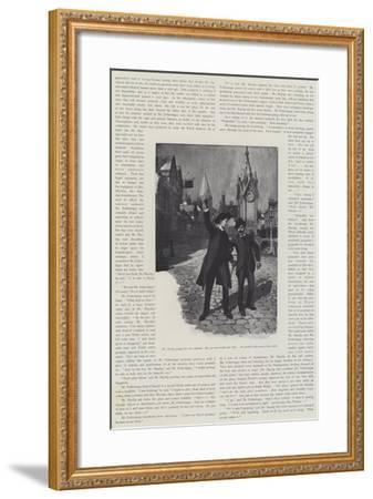 The Man Who Could Work Miracles, by H G Wells-Amedee Forestier-Framed Giclee Print