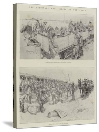 The Transvaal War, Scenes at the Front-Amedee Forestier-Stretched Canvas Print