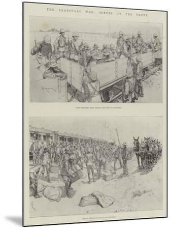 The Transvaal War, Scenes at the Front-Amedee Forestier-Mounted Giclee Print