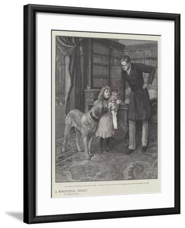 A Ministerial Defeat-Amedee Forestier-Framed Giclee Print
