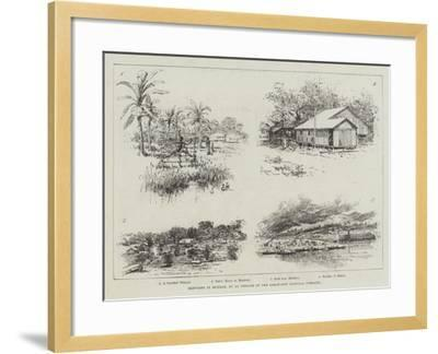 Sketches in Burmah-Amedee Forestier-Framed Giclee Print